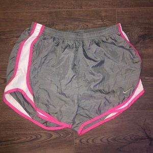 Nike Ruing Shorts in Pink and Grey